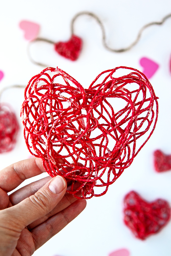 Valentine Yarn Ornament