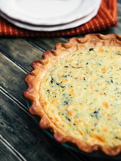 Zucchini Quiche + Pioneer Woman {GIVEAWAY}