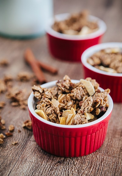 Chunky Apple Pie Granola
