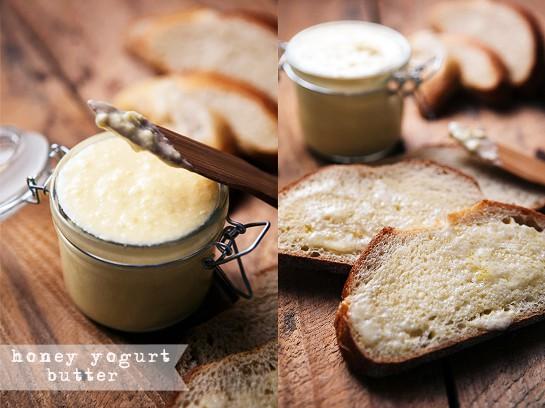 Honey Yogurt Butter