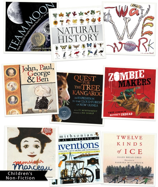 Ten Great Children's Non-Fiction Books