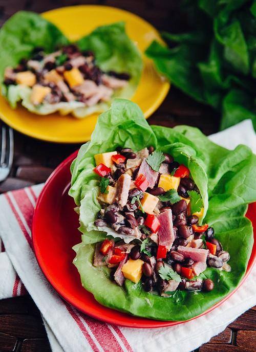 Ham and Black Bean Salad Bowls
