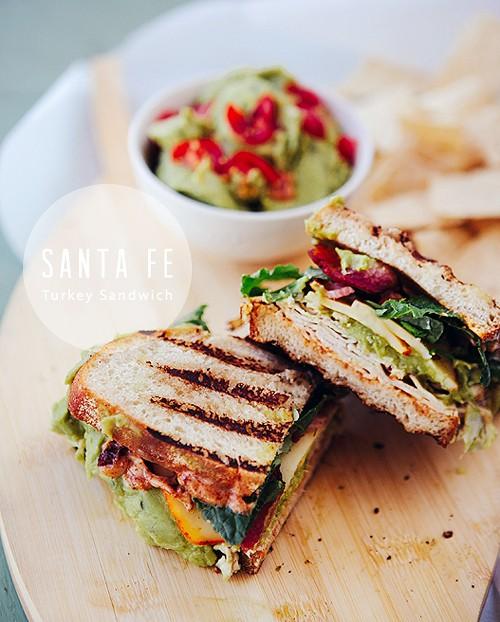 The Santa Fe: Southwestern Turkey Sandwich