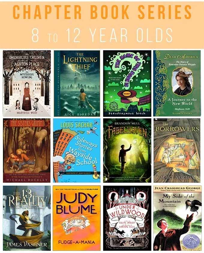 25 Great Chapter Book Series For 8 To 12 Year Olds Some The Wiser