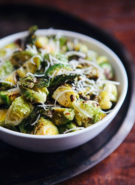 Roasted Lemon Pepper Brussels Sprouts