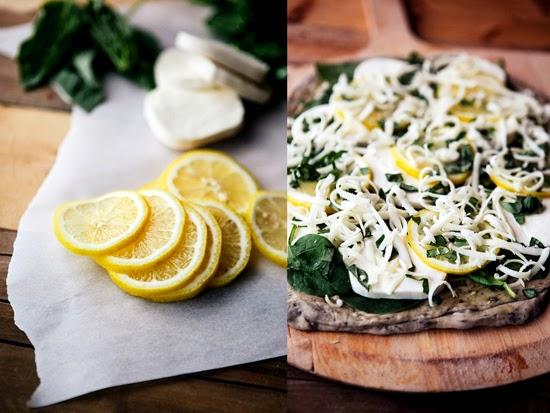 lemon-basil-pizza