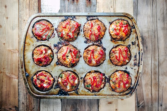 Muffin Tin Meatloaf: Easy, Quick, Freezer Friendly Dinner made in a muffin tin!
