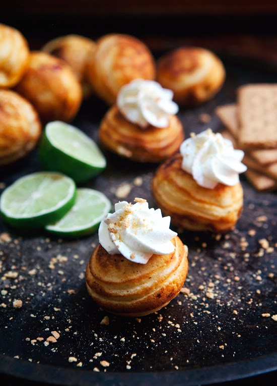 Key Lime Pie Ebelskivers