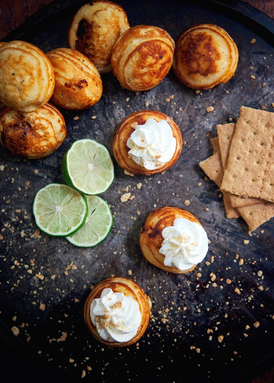 Key Lime Pie Ebelskivers - A fun twist on the classic pie. The small portions are perfect!