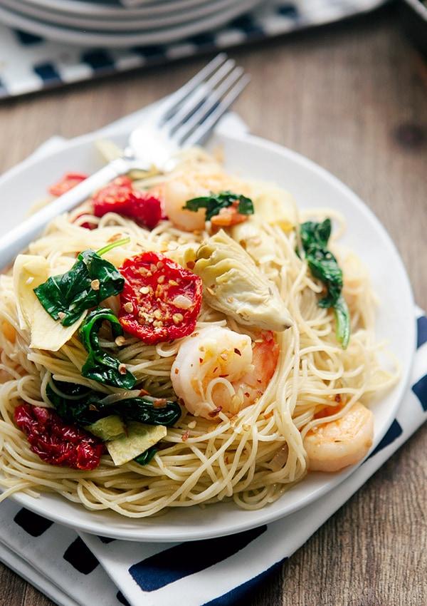sun dried tomato shrimp pasta-9764b