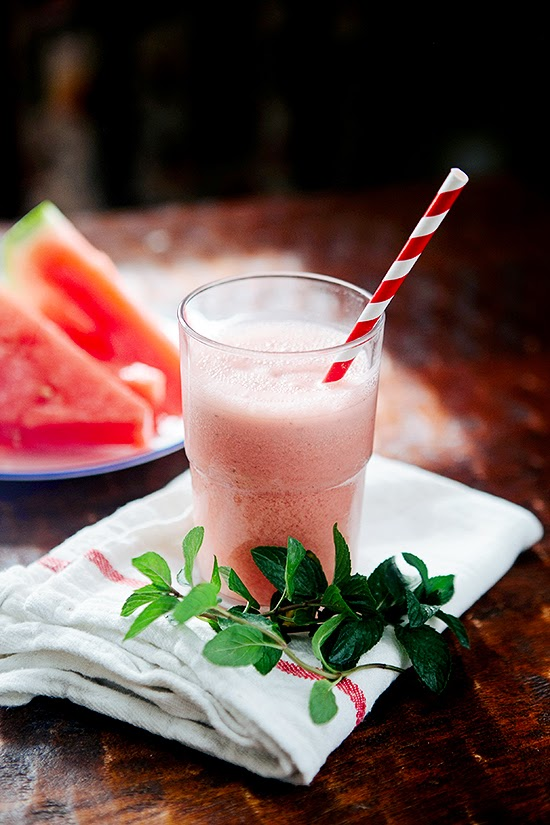 Watermelon Vanilla Mint Cooler