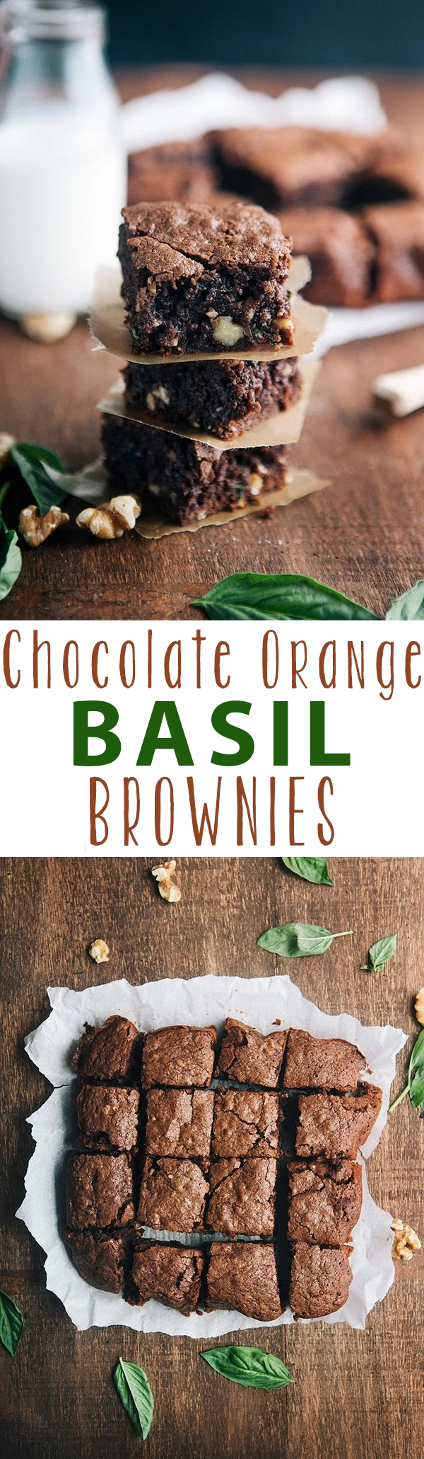 chocolate-orange-basil-brownies