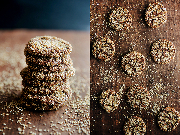 Chocolate Sesame Cookies3