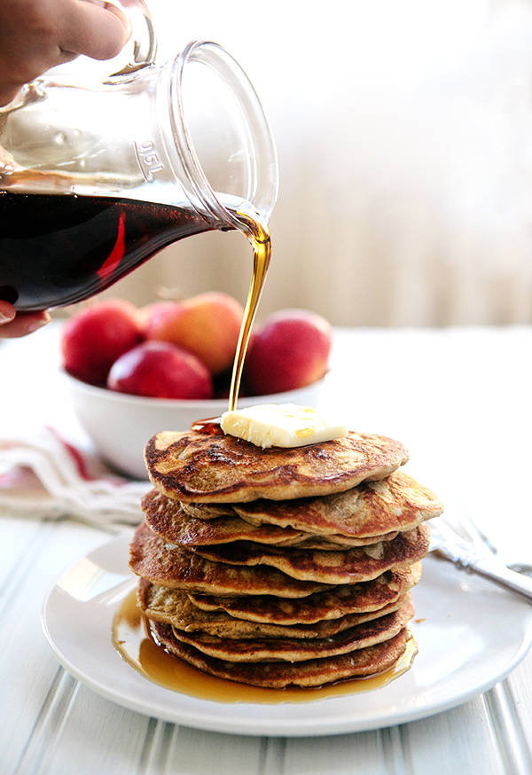 Oatmeal Apple Blender Pancakes: Easy, Gluten Free Breakfast