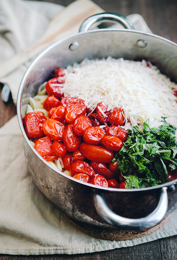 Easiest Slow Roasted Tomato Pasta | Some the Wiser