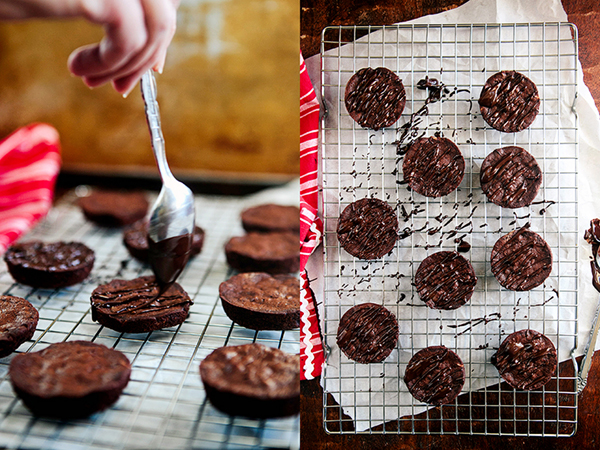 Chocolate Orange Brownie Cookies | Some the Wiser