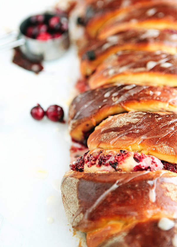 Cranberry Orange Pull Apart Rolls | Some the Wiser