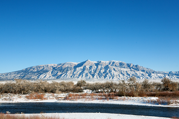 Sandia Mountains in Snow | Some the Wiser
