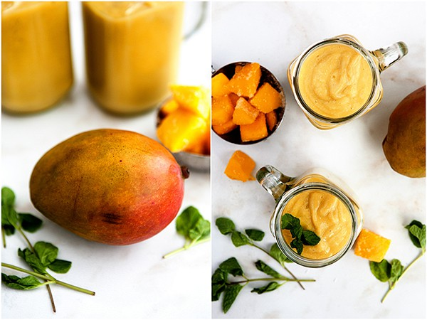 Mango White Bean Smoothie