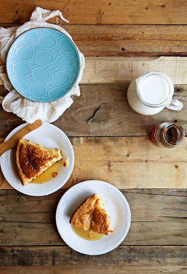 Skillet Cornbread Pudding