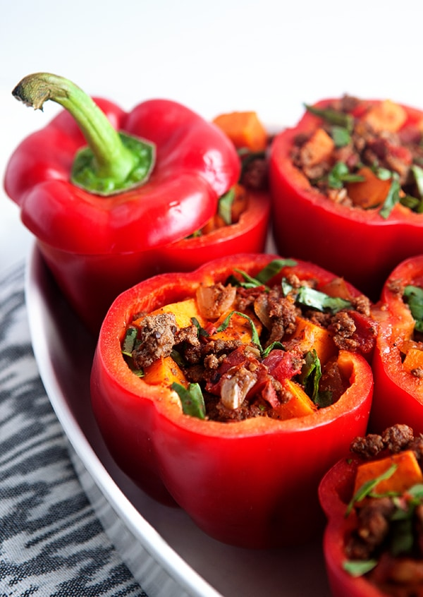 Stuffed Peppers with Chipotle Sauce