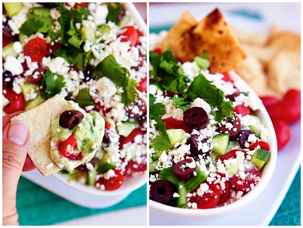 Healthy 7 Layer Greek Dip