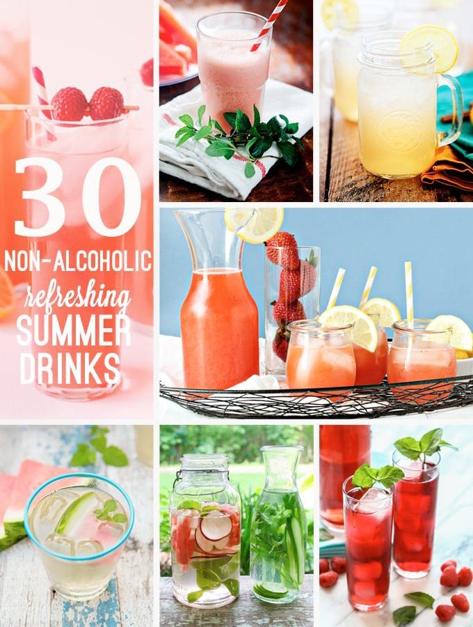 30 Refreshing Non-Alcoholic Summer Drinks