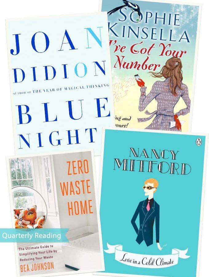 Weekend Bookshelf: Quarterly Roundup of Reads