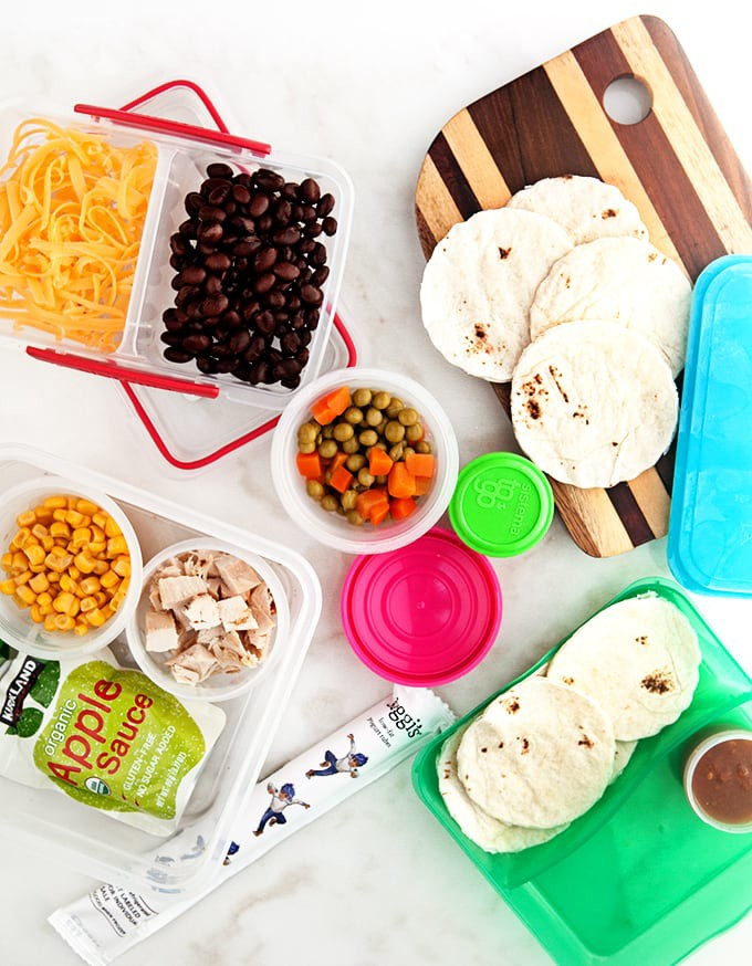Easy Lunchbox Tacos + GIVEAWAY