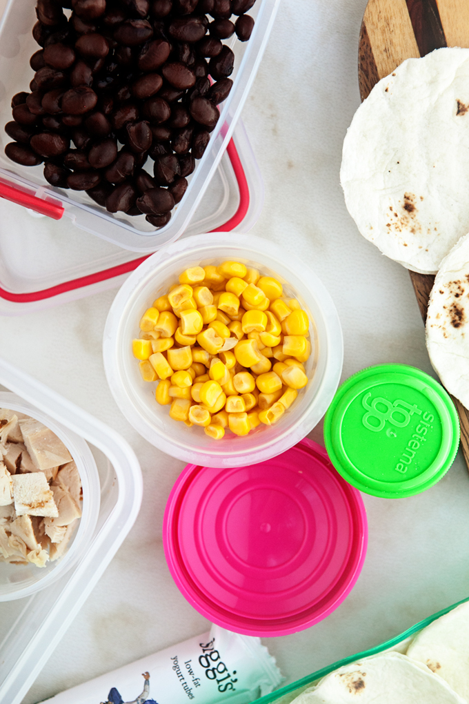 Easy Lunchbox Tacos