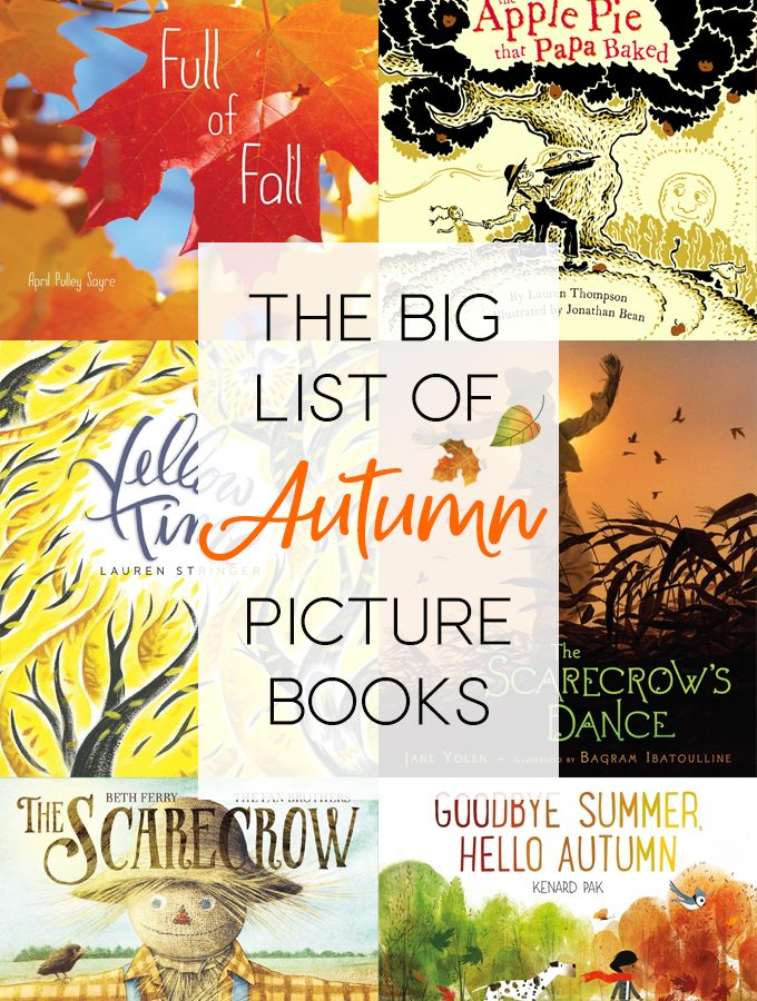 The Big List of Autumn Picture Books