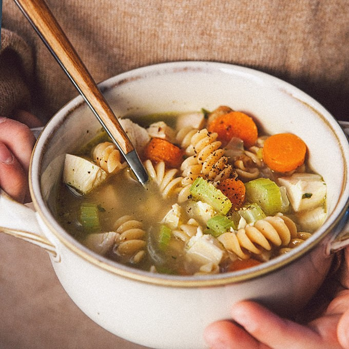 Easiest Chicken Noodle Soup