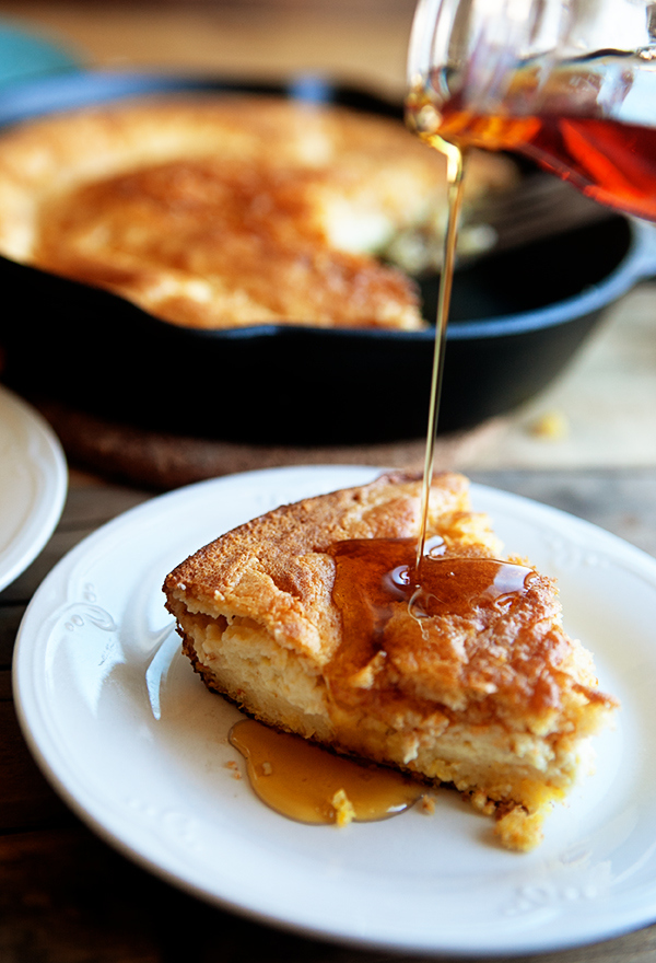 Skillet-Cornbread-Pudding-1