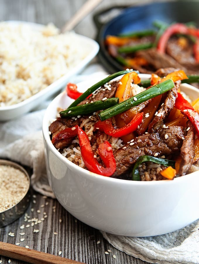 Healthy Beef Stir Fry in 20 minutes