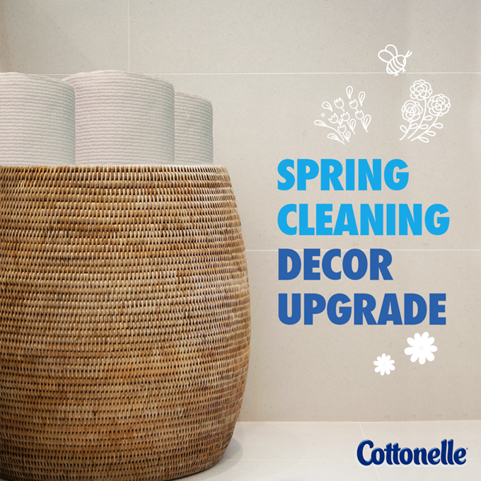 Spring Cleaning with Cottonelle