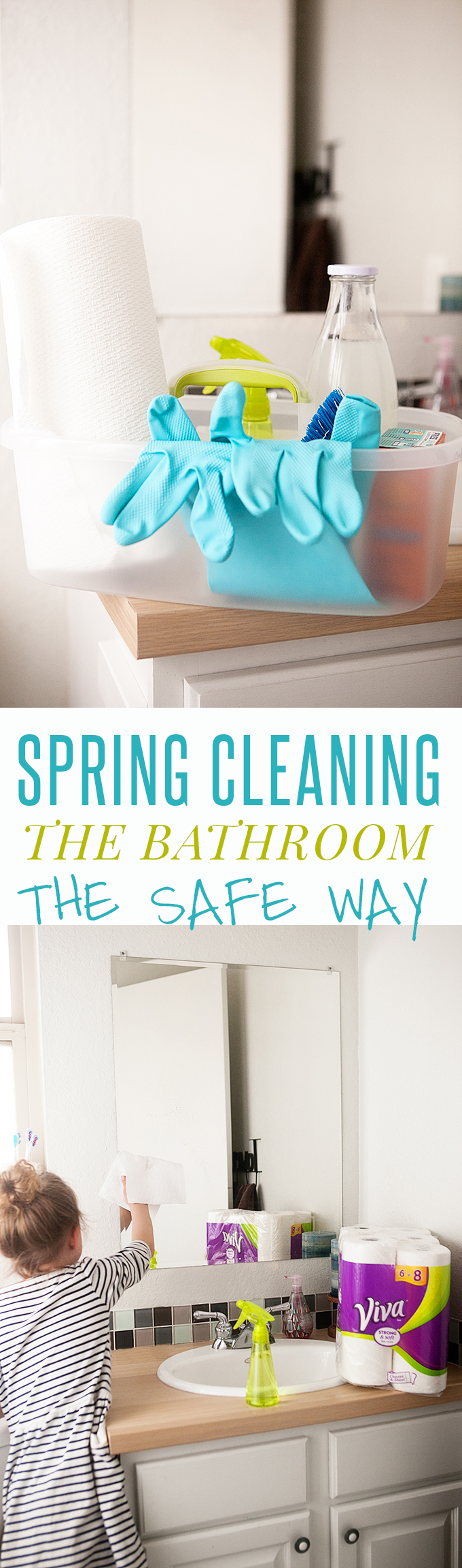 Spring Cleaning the Bathroom: Homemade All Purpose Cleaner and Bathroom Cleaning Tips for the whole family