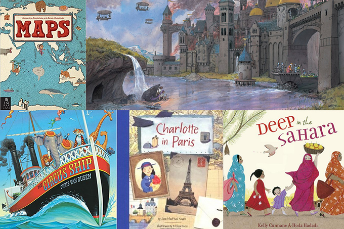 50 picture books for Summer adventures