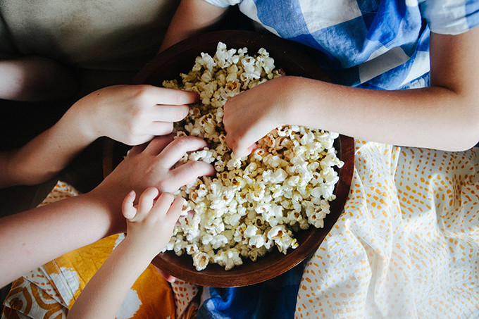 How We Save Money on Family Movie Night + A Giveaway