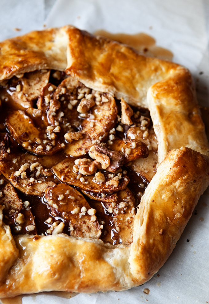 cinnamon-apple-galette-with-salted-maple-glaze