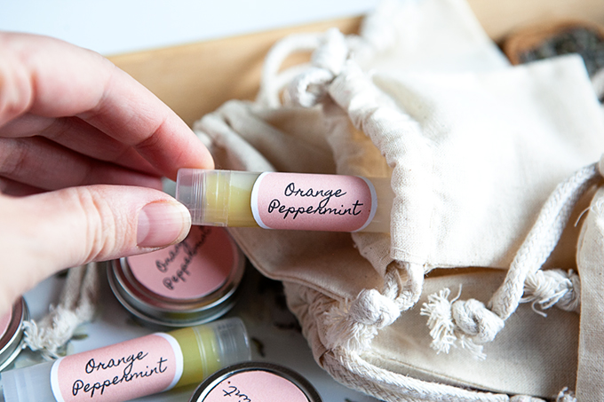 Homemade Gift Ideas: Homemade Chap Stick, Homemade Lip Gloss, and More