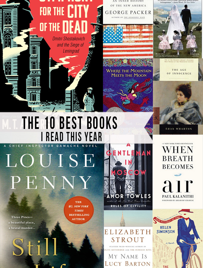 The Ten Best Books I read in 2016