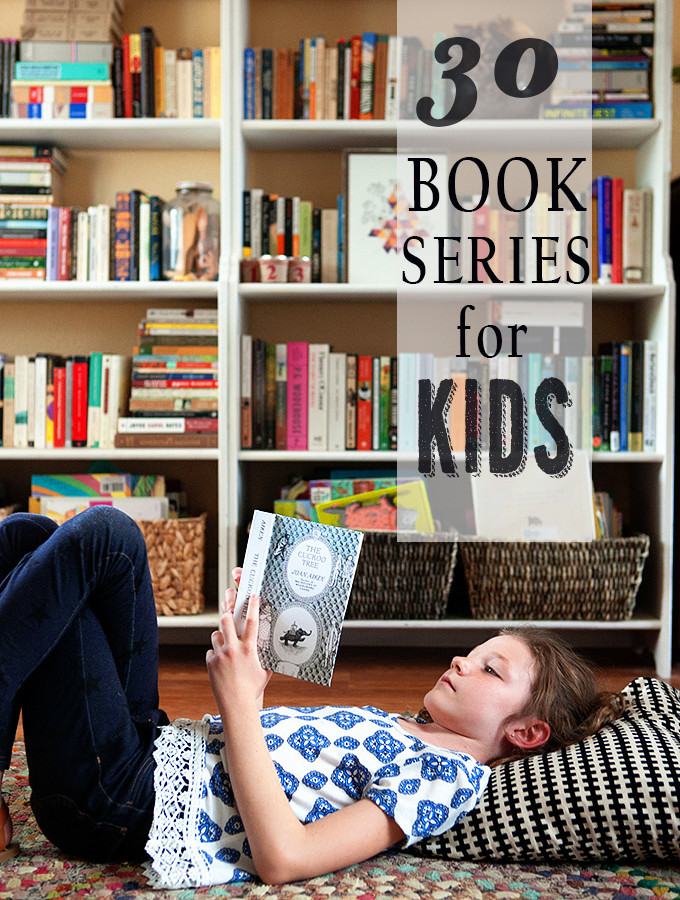 Great Middle Grade Book Series for Kids
