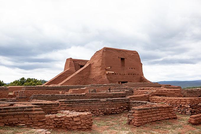 Pecos Pueblo New Mexico