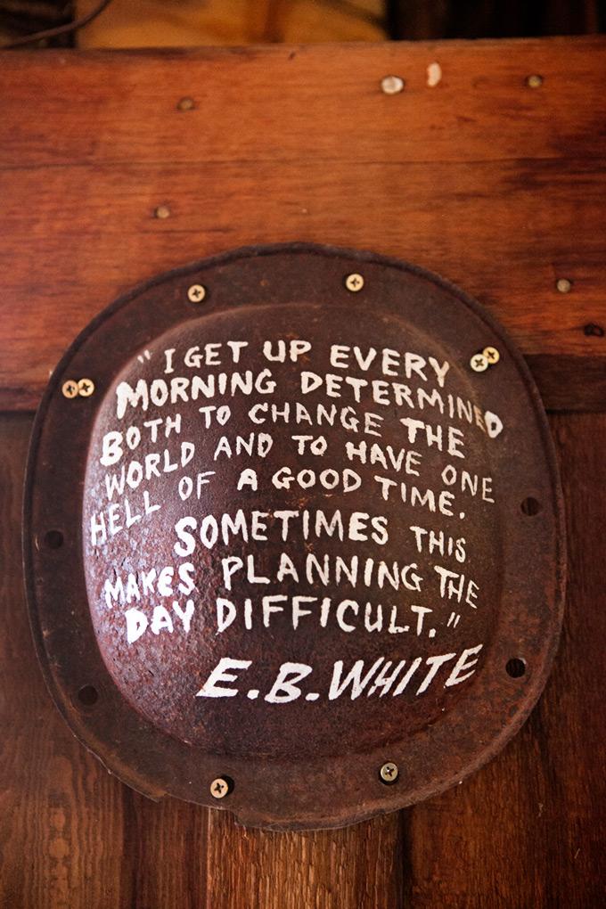E. B. White Quote