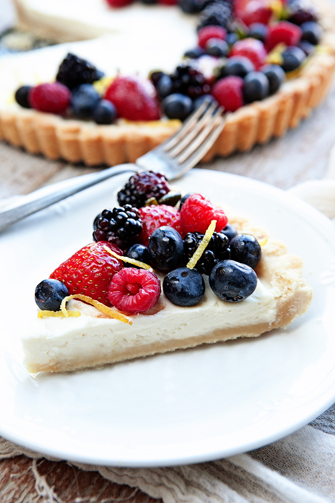 Lemon Berry Mascarpone Tart 2