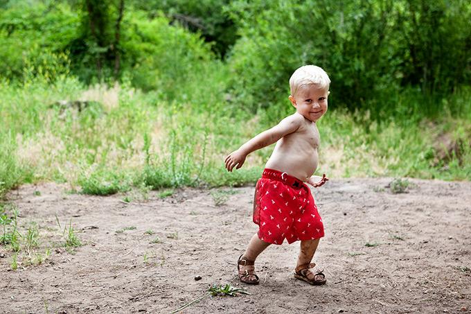 Muddy Little Boy