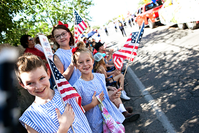 Happy Fourth of July Parade