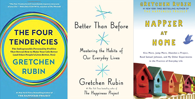Gretchen Rubin Book Covers