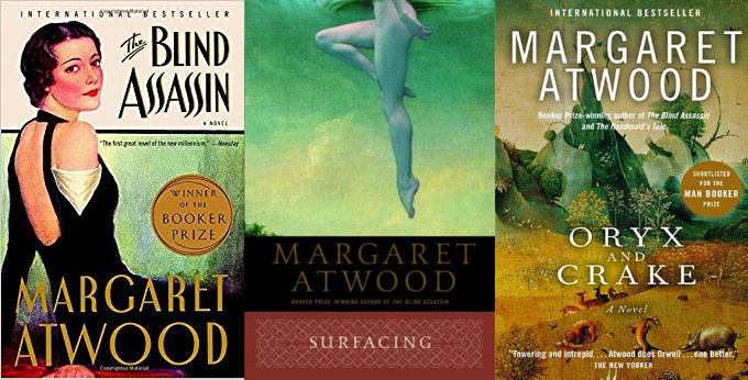 Margaret Atwood Book Covers