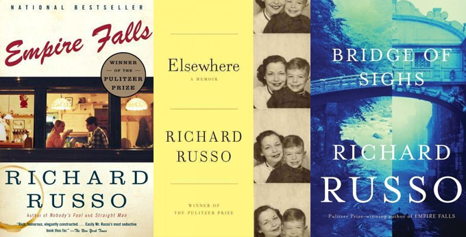 Richard Russo Book Covers